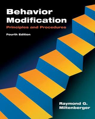 behavior modification principles and procedures 6th edition pdf