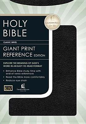 KJV Giant Print (13 point type) Personal Size Reference Holy Bible