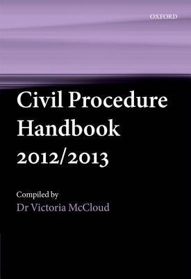 Civil Procedure Handbook 2012/2013