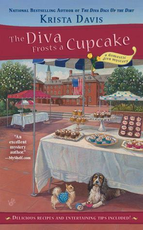 The Diva Frosts a Cupcake (A Domestic Diva Mystery, #7)