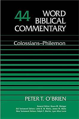 Colossians philemon by peter t obrien 898819 fandeluxe Gallery
