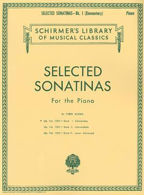 Selected Sonatinas - Book 1: Elementary: Schirmer Library of Classics Volume 1594 Easy Piano Solo