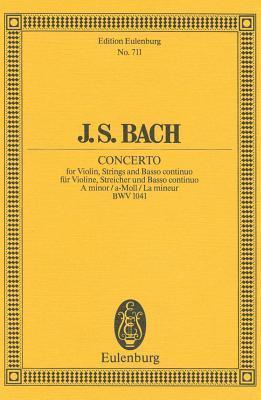 Violin Concerto No. 1, Bwv 1041: In a Minor