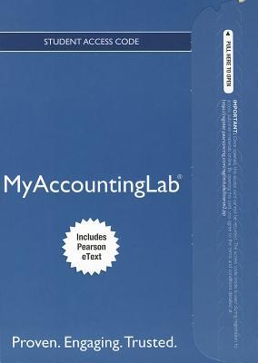 New Myaccountinglab with Pearson Etext -- Access Card -- For Financial Accounting