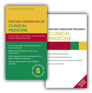 Oxford Handbook of Clinical Medicine Eighth Edition and Oxford Assess and Progress Clinical Medicine Pack