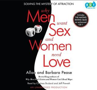 Ebook Why Men Want Sex and Women Need Love (Unabridged Audio CDs) by Allan Pease DOC!