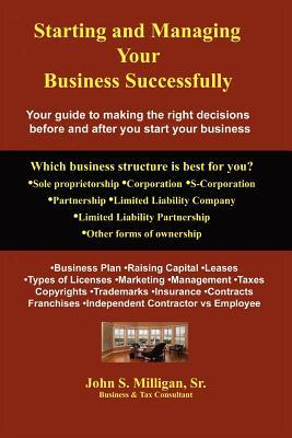 Starting and Managing Your Business Successfully