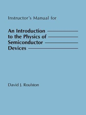 An Introduction to the Physics of Semiconductor Devices Im