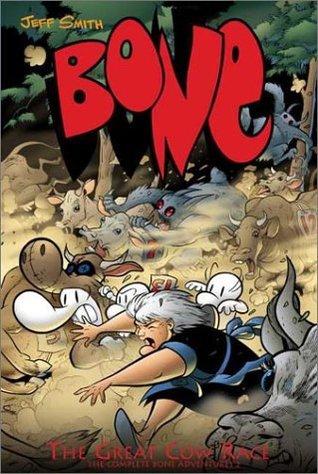 Bone, Vol. 2: The Great Cow Race (Bone, #2)