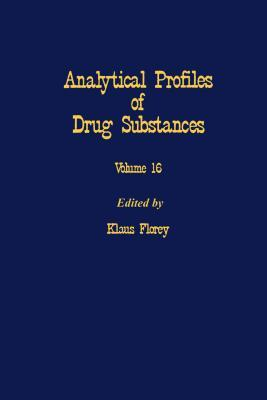 Profiles of Drug Substances, Excipients and Related Methodology, Volume 16