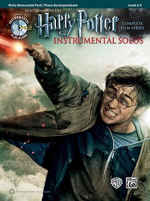 Harry Potter Instrumental Solos for Strings: Viola, Book & CD por Alfred A. Knopf Publishing Company