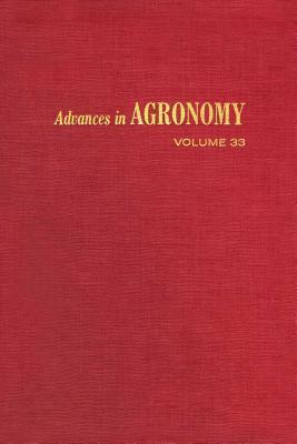 Advances in Agronomy, Volume 33