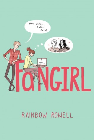 Image result for fangirl goodreads cover