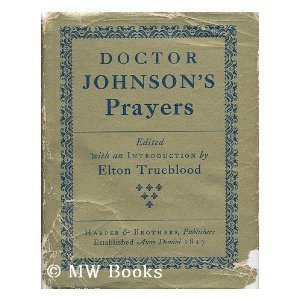 Doctor Johnson's Prayers