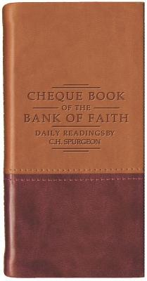 Chequebook of the Bank of Faith - Tan/Burgundy