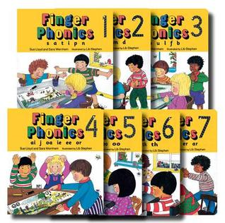 Finger Phonics Books 1-7