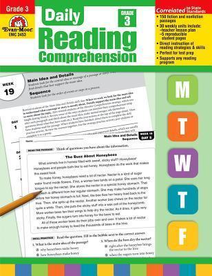 Daily Reading Comprehension, Grade 3 Te