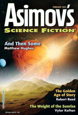 Asimov's Science Fiction, February 2013