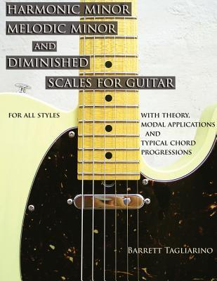 Harmonic Minor, Melodic Minor, and Diminished Scales for Guitar