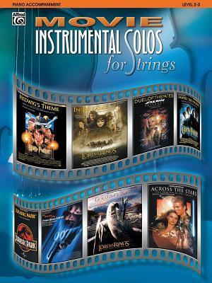 Movie Instrumental Solos for Strings: Piano Acc.