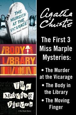The First 3 Miss Marple Mysteries: The Murder at the Vicarage / The Body in the Library / The Moving Finger