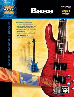 Alfred's Max Bass: See It * Hear It * Play It, Book & DVD