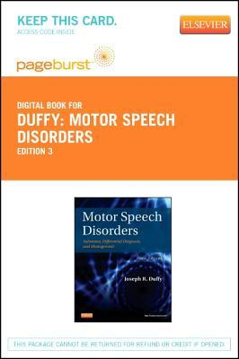 Motor Speech Disorders - Elsevier eBook on Vitalsource (Retail Access Card): Substrates, Differential Diagnosis, and Management