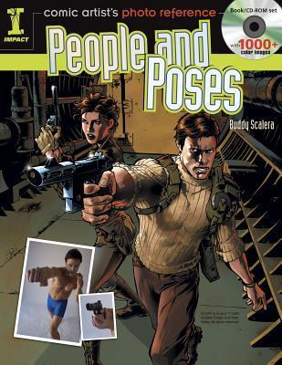 Comic Artist's Photo Reference - People & Poses: Book/CD Set with 1000+ Color Images