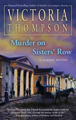 Murder on Sisters Row(Gaslight Mystery 13)