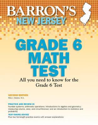 Barron's New Jersey ASK 6 Math Test