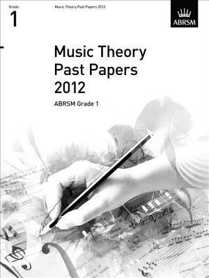Music Theory Past Papers, Abrsm Grade 1 2012