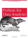 Python for Data Analysis by Wes McKinney