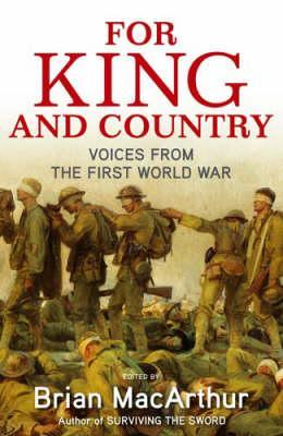 for-king-and-country-voices-from-the-first-world-war