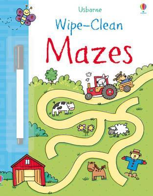 Mazes (Usborne Wipe Clean Books)
