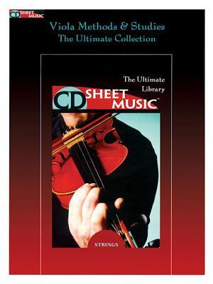 Viola Methods, Studies and Chamber Music: The Ultimate Collection CD Sheet Music CD-ROM