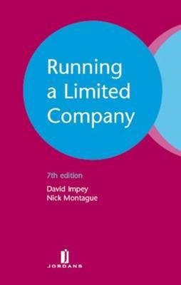 Running a Limited Company: Seventh Edition