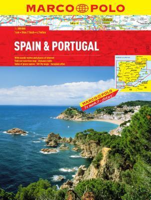 Spain/Portugal Marco Polo Atlas
