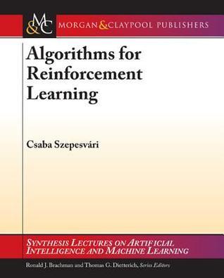 Algorithms for Reinforcement Learning Descargar un libro en línea gratis