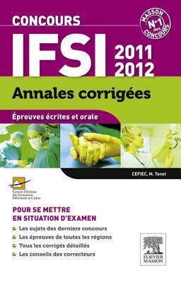 Annales Corrig�es Concours Ifsi 2011-2012