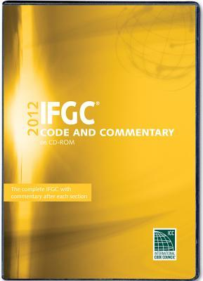 2012 International Fuel Gas Code Commentary CD-ROM