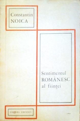 Imagini pentru noica sentimentul romanesc al fiintei