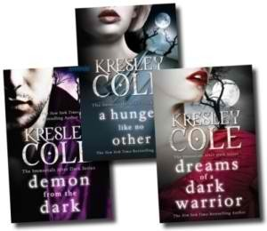 The Immortals After Dark Collection: Dreams Of A Dark Warrior, Demon From The Dark, A Hunger Like No Other (Immortals After Dark, #2, 10, 11)