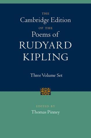 The Cambridge Edition of the Poems of Rudyard Kipling: 3 Volume Set