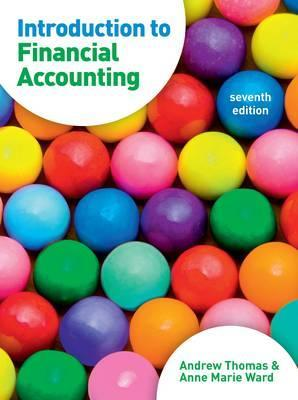 Introduction to Financial Accounting.