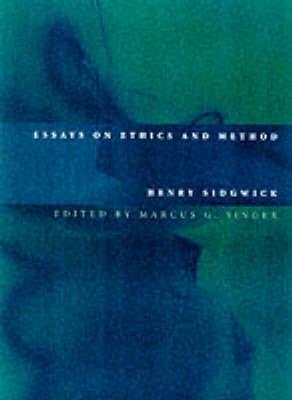 Essays On Ethics And Method