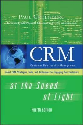CRM at the Speed of Light by Paul Greenberg