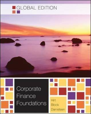 Corporate finance foundations by stanley b block 13654266 fandeluxe Image collections