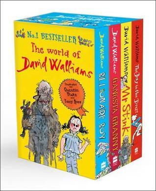 The World of David Walliams: 4 Books: Billionaire Boy / Gangsta Granny / Mr Stink / The Boy in the Dress