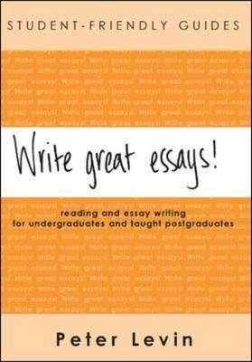 write great essays a guide to reading and essay writing for  1676908