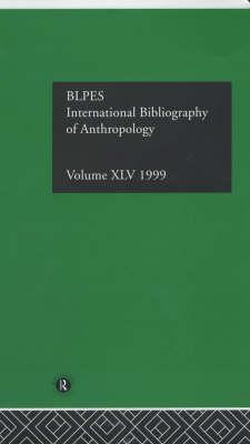 Ibss: Anthropology: 1999 Vol.45